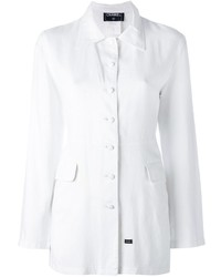 weiße Jacke von Chanel