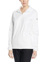 weiße Jacke von Nike