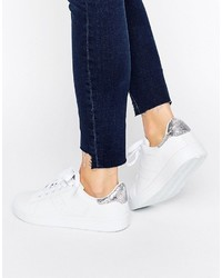 weiße Jeans Turnschuhe von Missguided