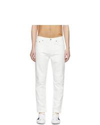weiße Jeans von Acne Studios