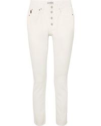 weiße Jeans von Balenciaga