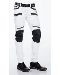 weiße Jeans von Cipo & Baxx