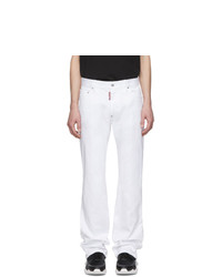 weiße Jeans von DSQUARED2