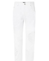 weiße Jeans von Isabel Marant