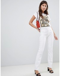 weiße Jeans von J Brand
