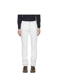 weiße Jeans von Maison Margiela