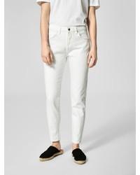 weiße Jeans von Selected Femme