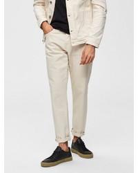 weiße Jeans von Selected Homme