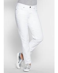 weiße Jeans von SHEEGO DENIM