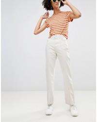 weiße Jeans von Weekday