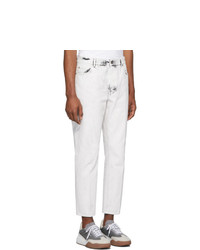 weiße Jeans von Stella McCartney