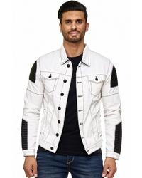 weiße Jeansjacke von Cipo & Baxx