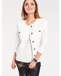 promo code d44a7 d3376 Modische weiße Jeansjacke für Damen für Winter 2019 kaufen ...