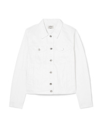 weiße Jeansjacke von J.Crew
