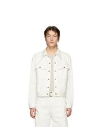 weiße Jeansjacke von Lemaire