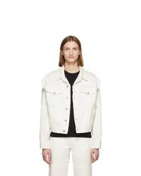weiße Jeansjacke von MM6 MAISON MARGIELA