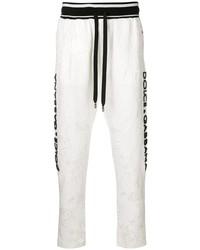 weiße Jogginghose von Dolce & Gabbana