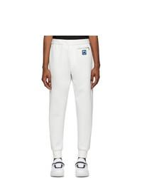 weiße Jogginghose von Prada