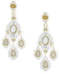 weiße Juwelen