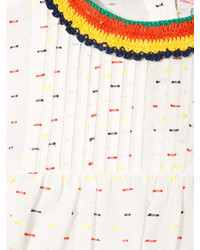 weiße Langarmbluse von Stella McCartney