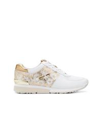 Modische weiße niedrige Sneakers für Damen von MICHAEL