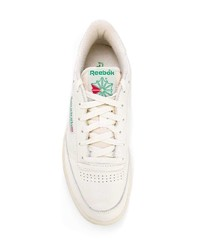weiße Leder niedrige Sneakers von Reebok