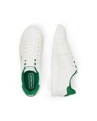 weiße Leder niedrige Sneakers von Jack & Jones