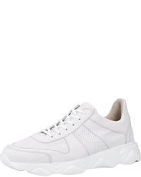 weiße Leder niedrige Sneakers von Lloyd