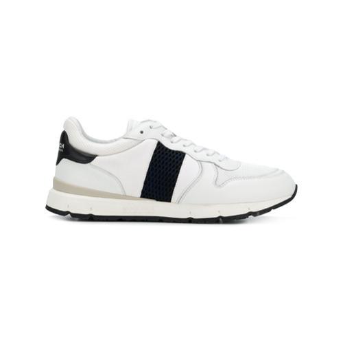 weiße Leder niedrige Sneakers von Woolrich