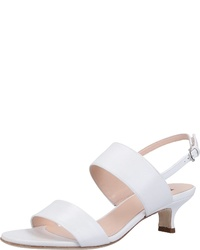 weiße Leder Sandaletten von Högl