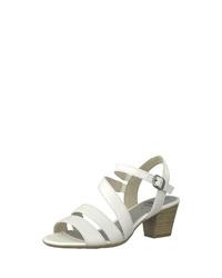 weiße Leder Sandaletten von Jana