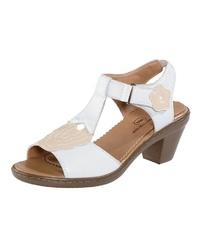 weiße Leder Sandaletten von Mae&Mathilda