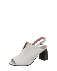 weiße Leder Sandaletten von Mjus