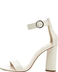 weiße Leder Sandaletten von PoiLei