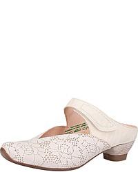 weiße Leder Sandaletten von Think!