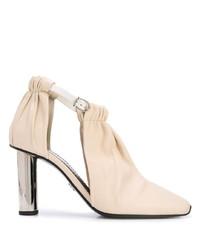 weiße Leder Stiefeletten von Proenza Schouler