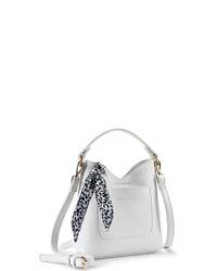 weiße Leder Umhängetasche von Lascana