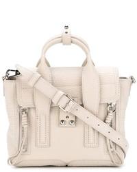 weiße Lederhandtasche von 3.1 Phillip Lim
