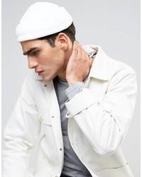 weiße Mütze von Asos