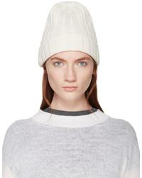 weiße Mütze von MM6 MAISON MARGIELA