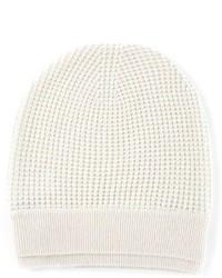 weiße Mütze von Vince