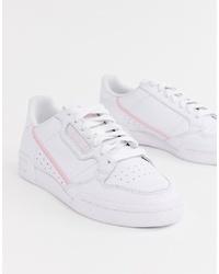 weiße niedrige Sneakers von adidas Originals