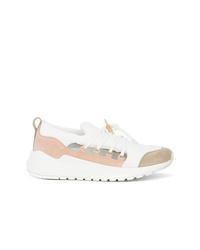 weiße niedrige Sneakers von Buscemi