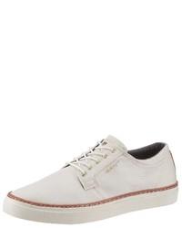 weiße niedrige Sneakers von Gant Footwear