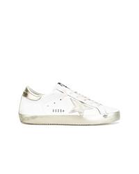 weiße niedrige Sneakers von Golden Goose Deluxe Brand
