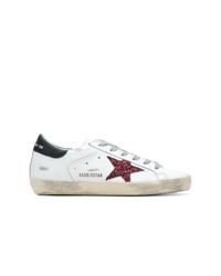 cdb2c267fc8007 Modische weiße niedrige Sneakers für Damen von Golden Goose Deluxe ...
