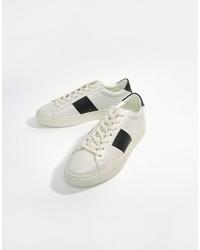 weiße niedrige Sneakers von Good For Nothing