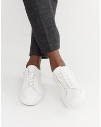 weiße niedrige Sneakers von Jack & Jones