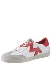 weiße niedrige Sneakers von La Martina