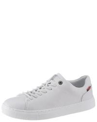 weiße niedrige Sneakers von Levi's